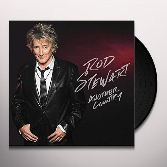 Rod Stewart ANOTHER COUNTRY: DELUXE EDITION Vinyl Record - Holland Release