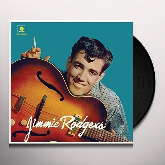 JIMMIE RODGERS (DEBUT ALBUM) + 2 BONUS TRACKS Vinyl Record