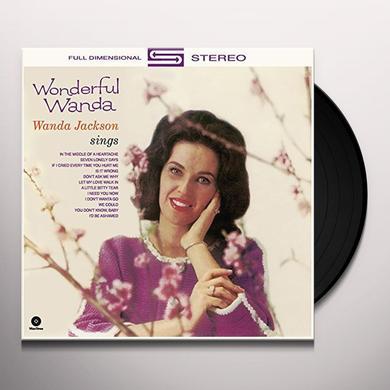Wanda Jackson WONDERFUL WANDA + 4 BONUS TRACKS (BONUS TRACKS) Vinyl Record