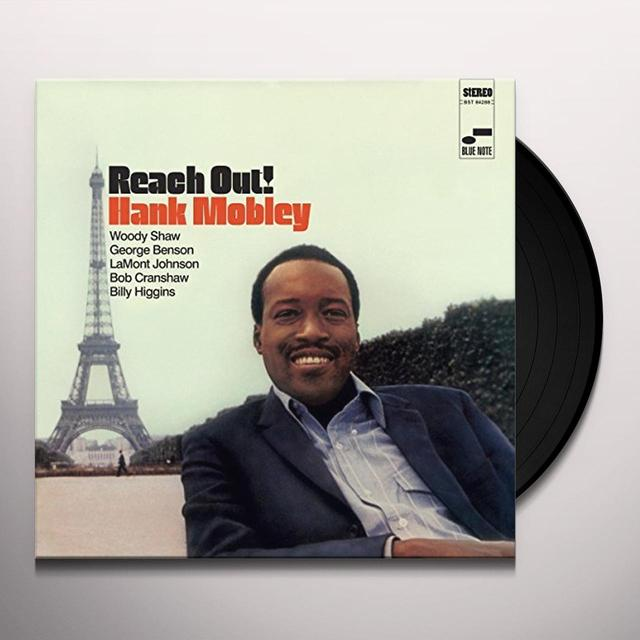Hank Mobley REACH OUT Vinyl Record - 180 Gram Pressing, Spain Import