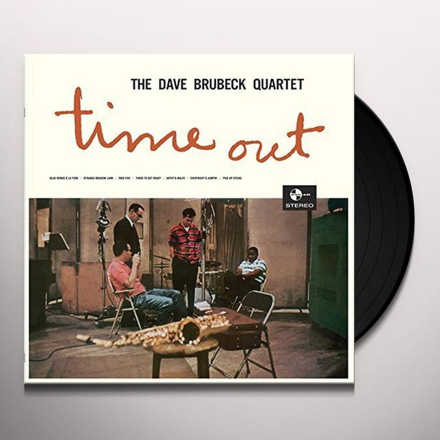 The Dave Brubeck Quartet TIME OUT + 2 BONUS TRACKS Vinyl Record - 180 Gram Pressing, Spain Import