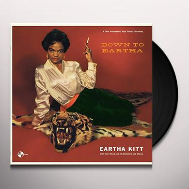 Eartha Kitt DOWN TO EARTHA + 2 BONUS TRACKS Vinyl Record