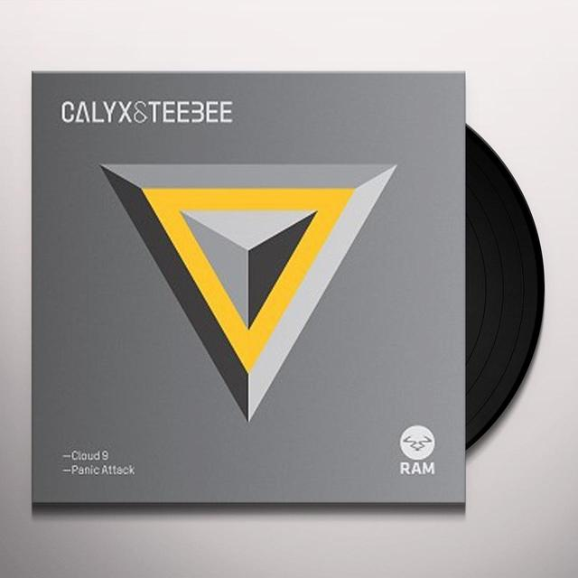 Calyx & Teebee CLOUD 9 / PANIC ATTACK Vinyl Record - UK Import
