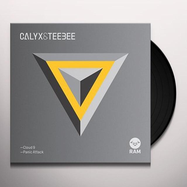 Calyx & Teebee CLOUD 9 / PANIC ATTACK Vinyl Record