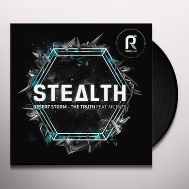 Stealth DESERT STORM / TRUTH FEAT MC FATS Vinyl Record - UK Import