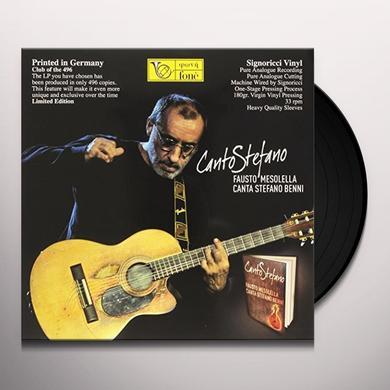 Fausto Mesolello CANTO STEFANO Vinyl Record - Italy Import