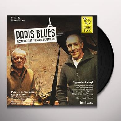 Riccardo Zegna / Giampaolo Casati PARIS BLUES Vinyl Record - Italy Import