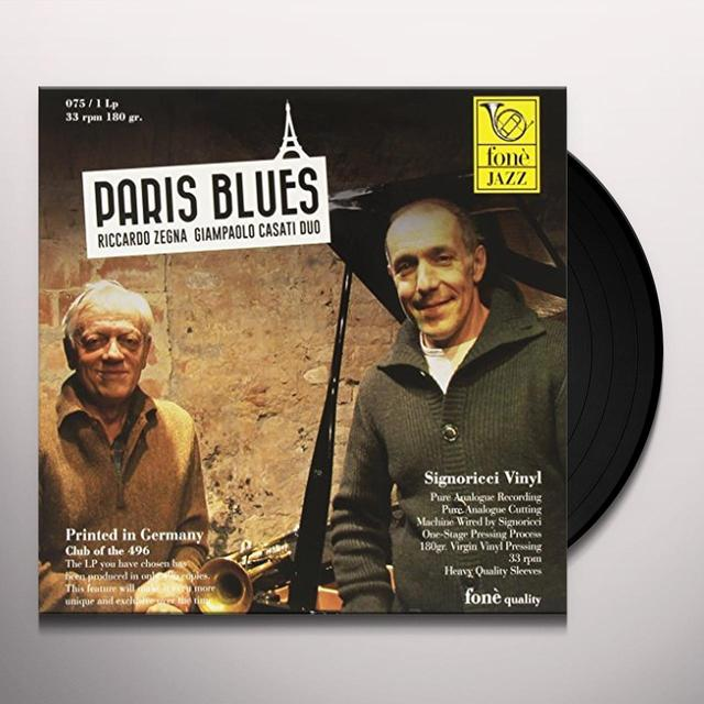 Riccardo Zegna / Giampaolo Casati PARIS BLUES Vinyl Record