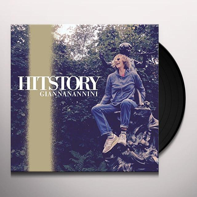 Gianna Nannini HITSTORY Vinyl Record - Italy Import