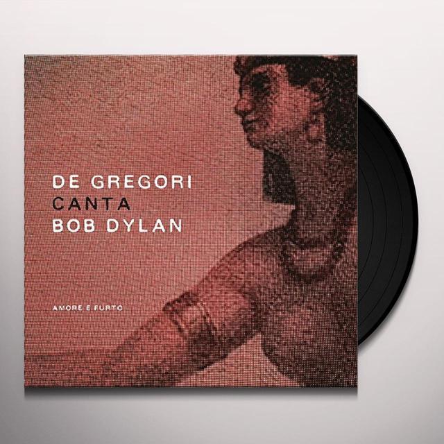 Francesco De Gregori DE GREGORI CANTA BOB DYLAN - AMORE E FURTO (BOX) Vinyl Record