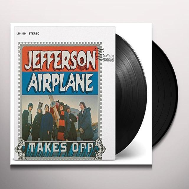 Jefferson Airplane TAKES OFF Vinyl Record - 180 Gram Pressing, Holland Import