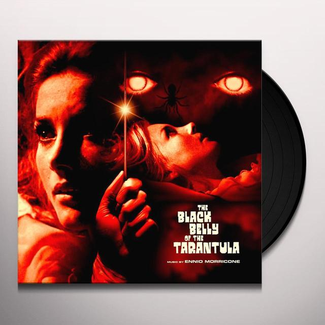 Ennio Morricone BLACK BELLY OF THE TARANTULA / O.S.T. Vinyl Record