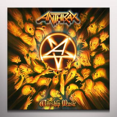 Anthrax WORSHIP MUSIC Vinyl Record - Colored Vinyl, Limited Edition
