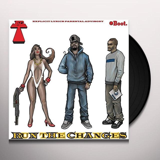 JAZZ T RUN THE CHANGES Vinyl Record