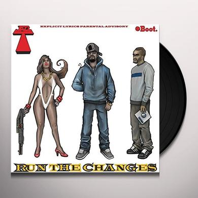 JAZZ T RUN THE CHANGES Vinyl Record - UK Import