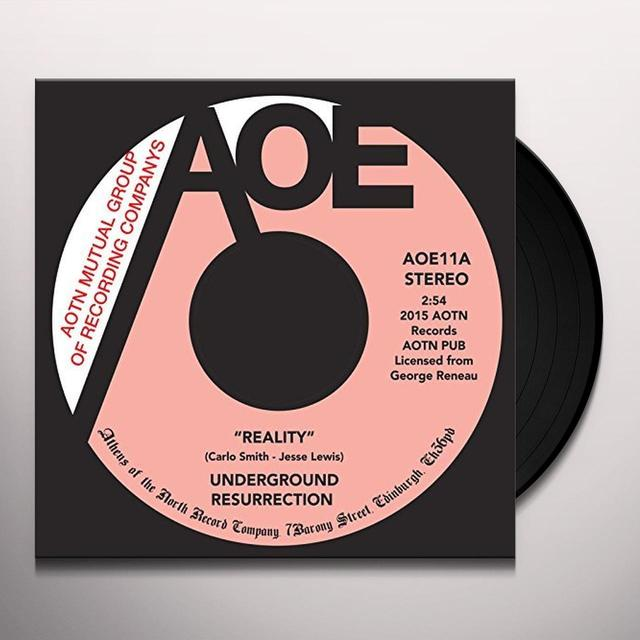 UNDERGROUND RESURRECTION REALITY Vinyl Record