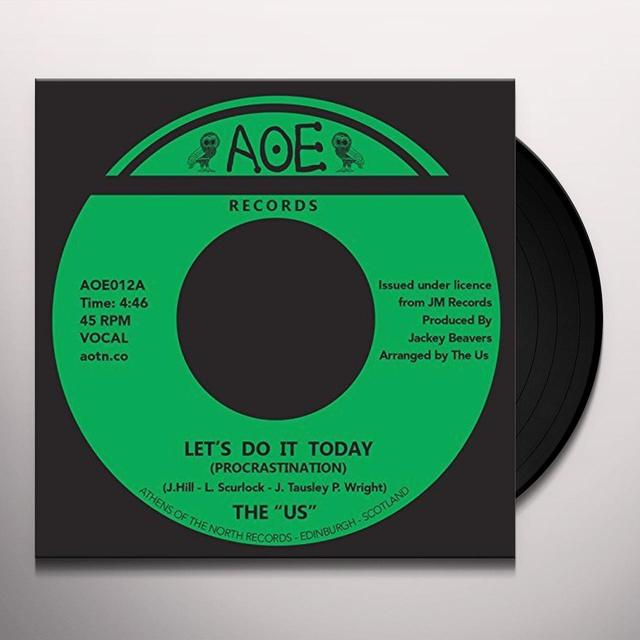 Us LET'S DO IT TODAY (PROCRASTINATION) Vinyl Record - UK Import