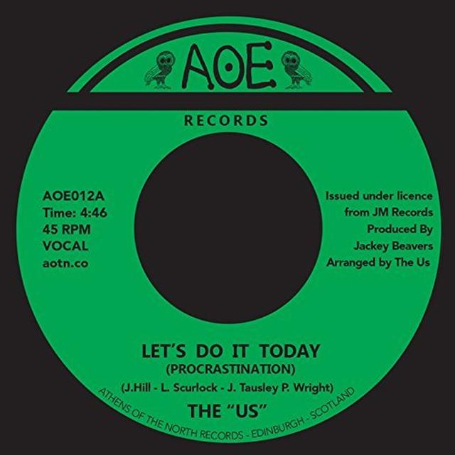 Us LET'S DO IT TODAY (PROCRASTINATION) Vinyl Record