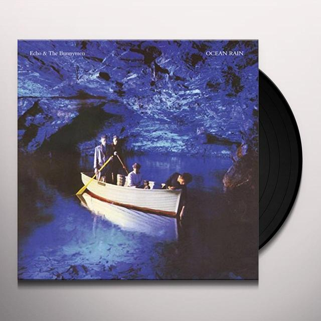 Echo & the Bunnymen OCEAN RAIN Vinyl Record - UK Import