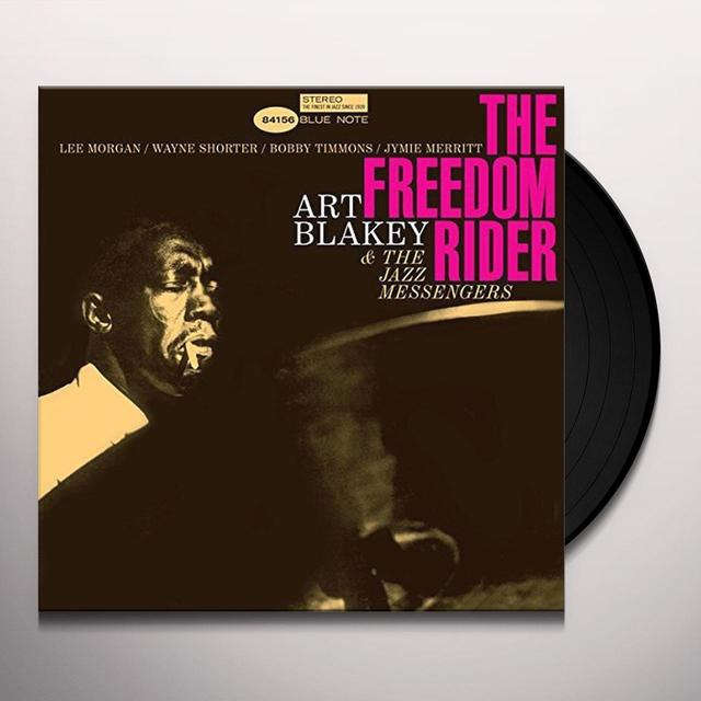 Art Blakey & Jazzmessengers FREEDOM RIDER Vinyl Record - 180 Gram Pressing, Spain Import