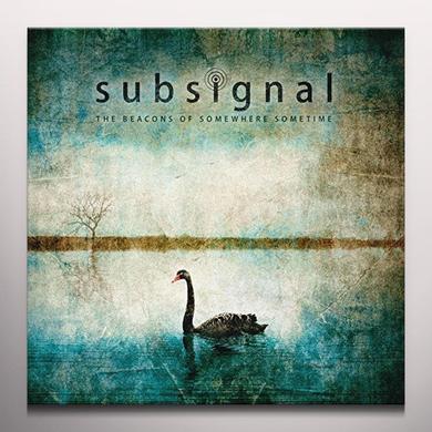 Subsignal BEACONS OF SOMEWHERE SOMET Vinyl Record - Colored Vinyl, 180 Gram Pressing, Red Vinyl