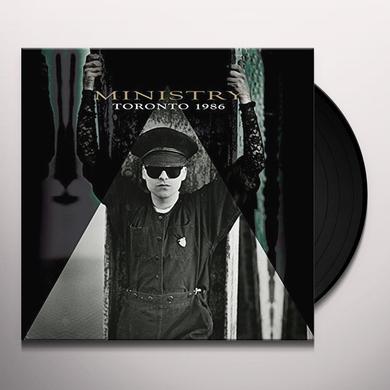 Ministry TORONTO 1986 Vinyl Record