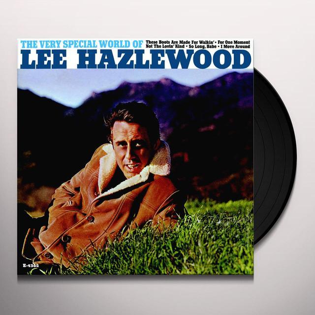 VERY SPECIAL WORLD OF LEE HAZLEWOOD (BONUS TRACK) Vinyl Record