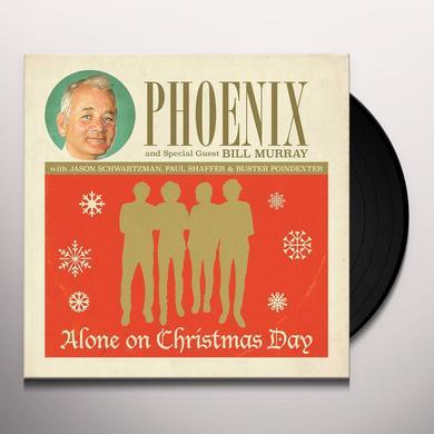 Phoenix ALONE ON CHRISTMAS DAY Vinyl Record
