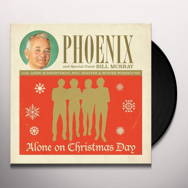 Phoenix ALONE ON CHRISTMAS DAY Vinyl Record