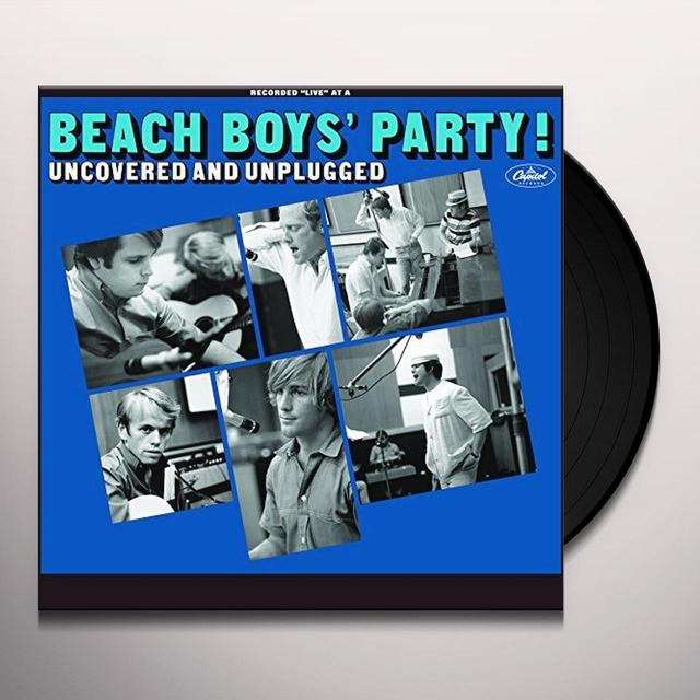 BEACH BOYS PARTY UNCOVERED & UNPLUGGED Vinyl Record