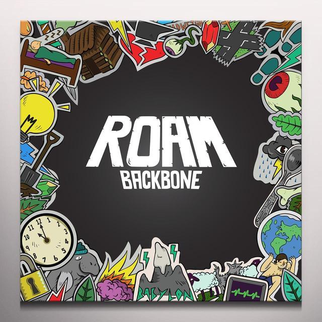 ROAM BACKBONE Vinyl Record - Blue Vinyl, Gatefold Sleeve, Red Vinyl, Digital Download Included
