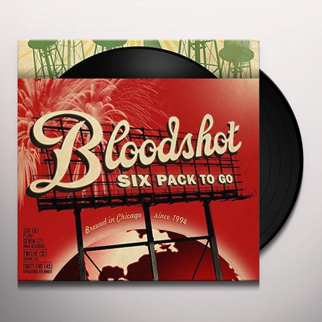 BLOODSHOT SIX PACK TO GO / VARIOUS Vinyl Record