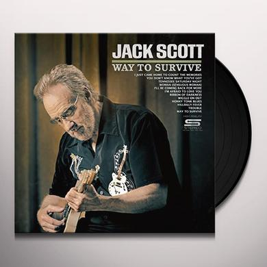 Jack Scott WAY TO SURVIVE Vinyl Record
