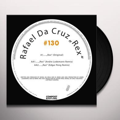 Rafael Da Cruz REX Vinyl Record