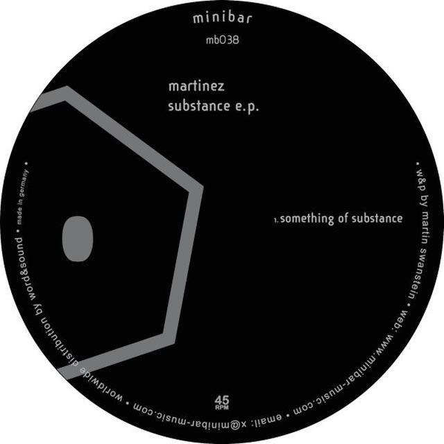 Martinez SUBSTANCE E.P. Vinyl Record
