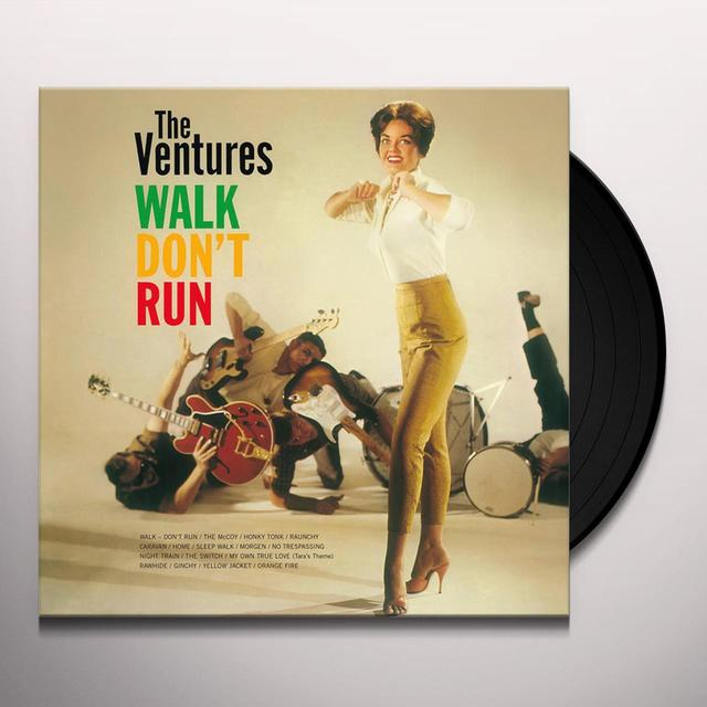 Ventures WALK DON'T RUN Vinyl Record