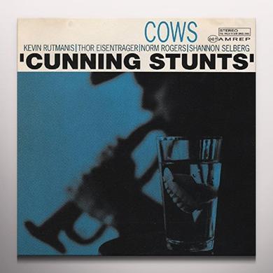 Cows CUNNING STUNTS Vinyl Record - Colored Vinyl