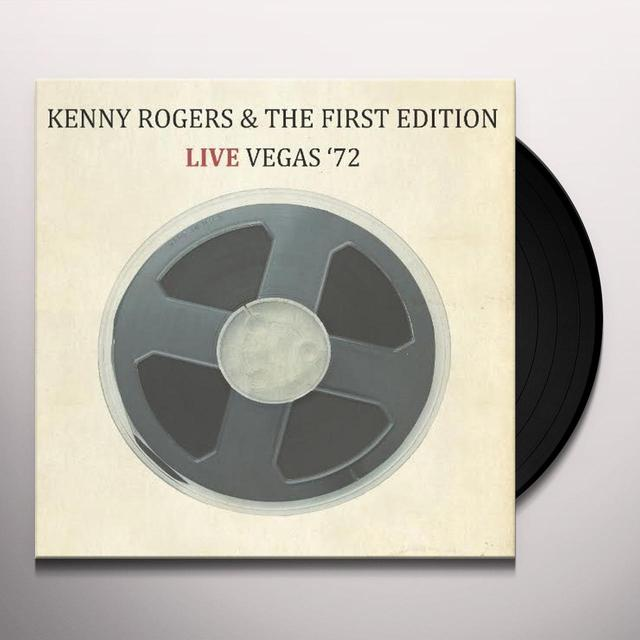 Kenny Rogers & The First Edition LIVE VEGAS 72 Vinyl Record - Limited Edition