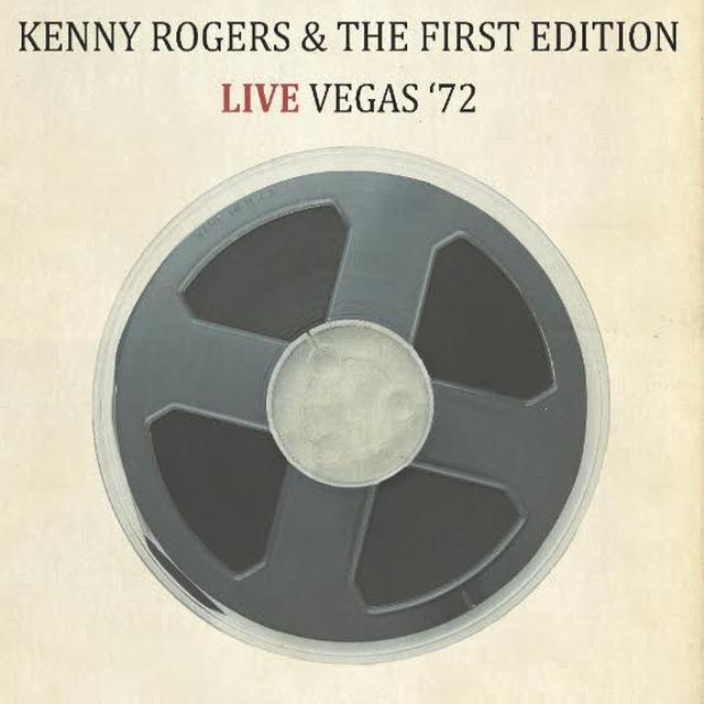 Kenny Rogers & The First Edition LIVE VEGAS 72 Vinyl Record