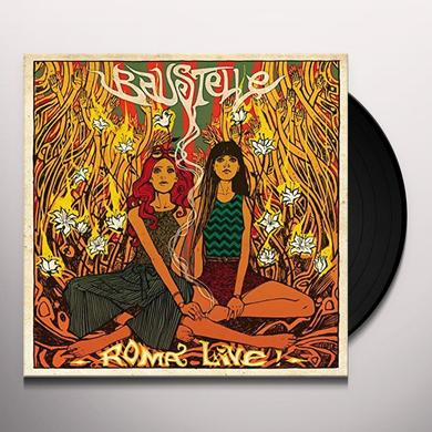 Baustelle ROMA LIVE Vinyl Record