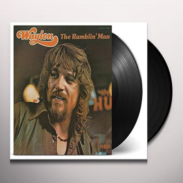 Waylon Jennings RAMBLIN MAN Vinyl Record - 180 Gram Pressing, Holland Import