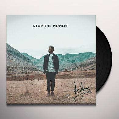 Kelvin Jones STOP THE MOMENT Vinyl Record