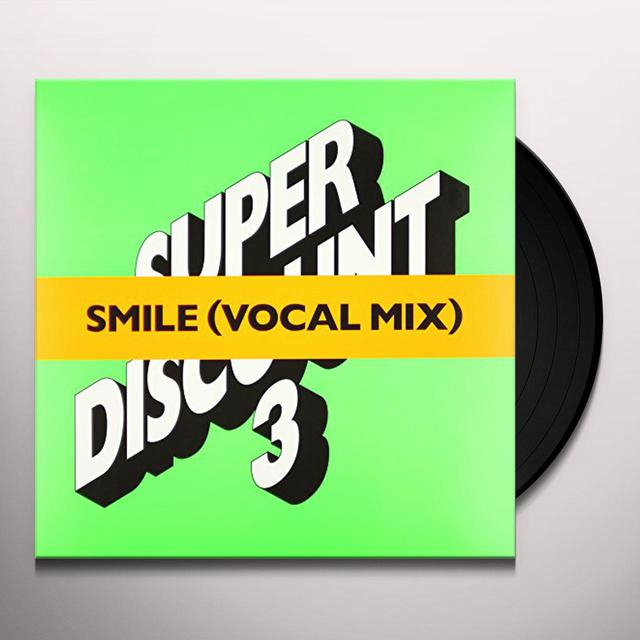 Etienne De Crecy / Alex Gopher / Ash SMILE (VOCAL MIX EP) Vinyl Record