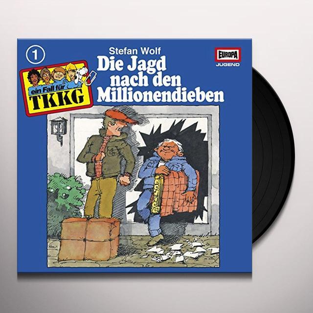 TKKG 001/DIE JAGD NACH DEN MILLIONENDIEBEN Vinyl Record