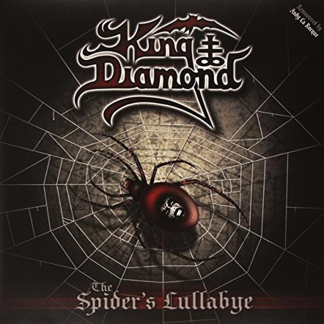 King Diamond SPIDER'S LULLABYE Vinyl Record - UK Release