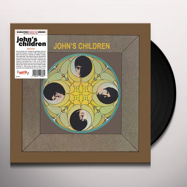 JOHNAES CHILDREN ORGASM Vinyl Record - Italy Import