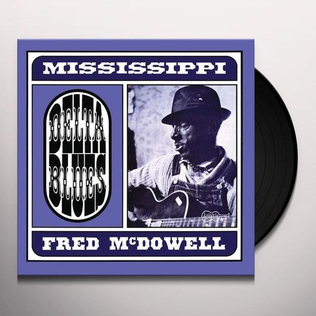 Mississippi Fred Mcdowell DELTA BLUES Vinyl Record - Italy Import