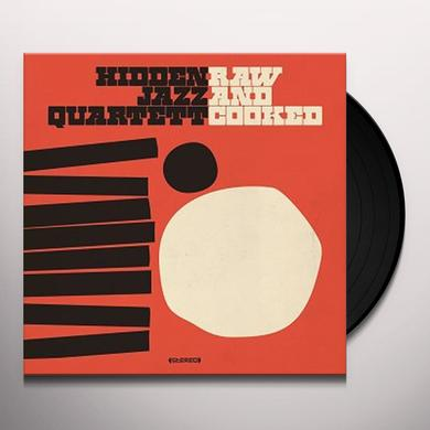 Hidden Jazz Quartett RAW & COOKED Vinyl Record - w/CD, UK Import