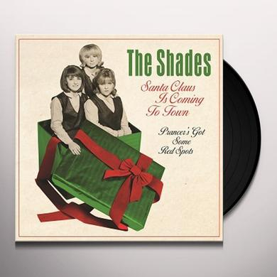 Shades SANTA CLAUS IS COMING TO TOWN Vinyl Record - UK Release
