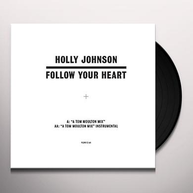 Holly Johnson FOLLOW YOUR HEART (TOM MOULTON MIXES) Vinyl Record - UK Import